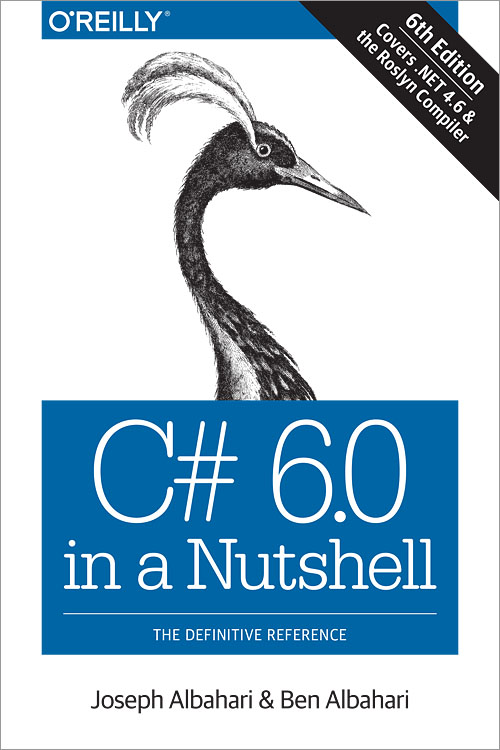 Book.C# 6.0 in a Nutshell, 6th Edition